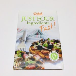 🆕Delish Just Four Ingredients Fast! Cookbook